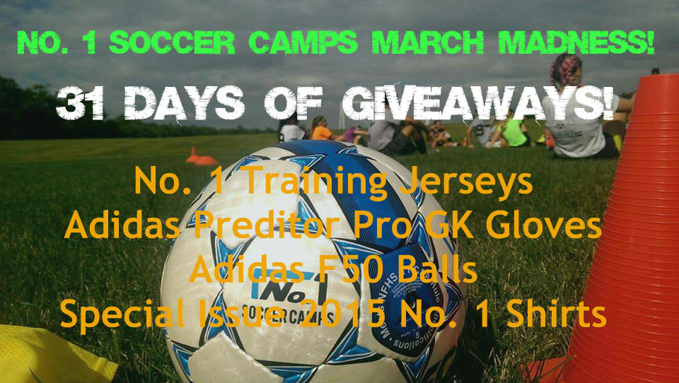 No. 1 Soccer Camps March Promotions
